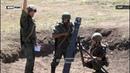 ЛНР Мотострелки и артиллеристы провели совместные учения по обороне