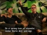 Martin Gore-Andy Fletcher-Tells an anecdote.Depeche Mode. TV interview 2001