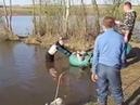 Пьяные на рыбалке Алкаши рыбаки видео приколы