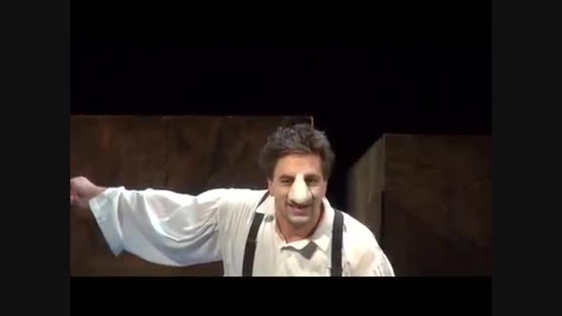 Отрывки из спектакля Сирано де Бержерак