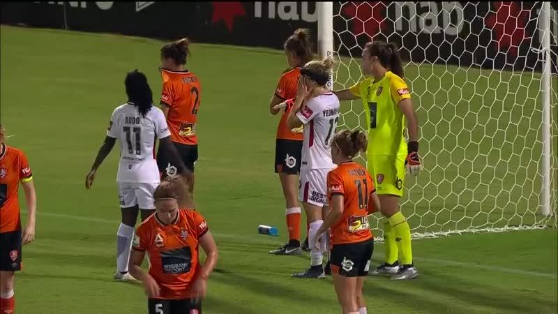 W-League 201819 Round 8 - Brisbane Roar FC Women v Western Sydney Wanderers Women