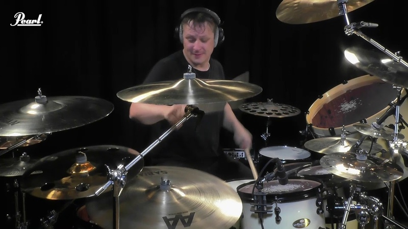 Ray Luzier playing the Pearl Masterworks kit | Korn - Rotting in vain