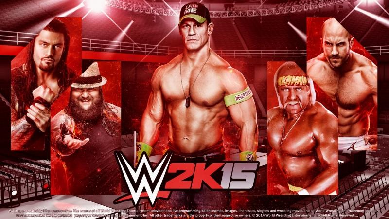WWE 2k15 Tag Team Match Индеров и Джек Сваггер vs Крис Джерико и Биг Шоу