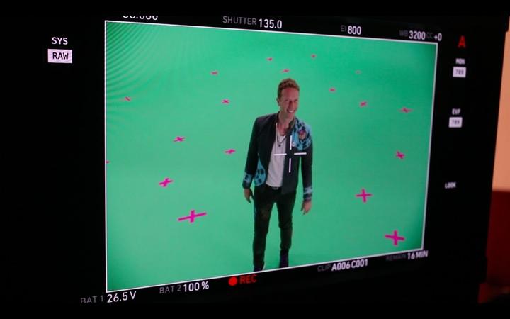 Coldplay - UpUp (Behind the scenes)