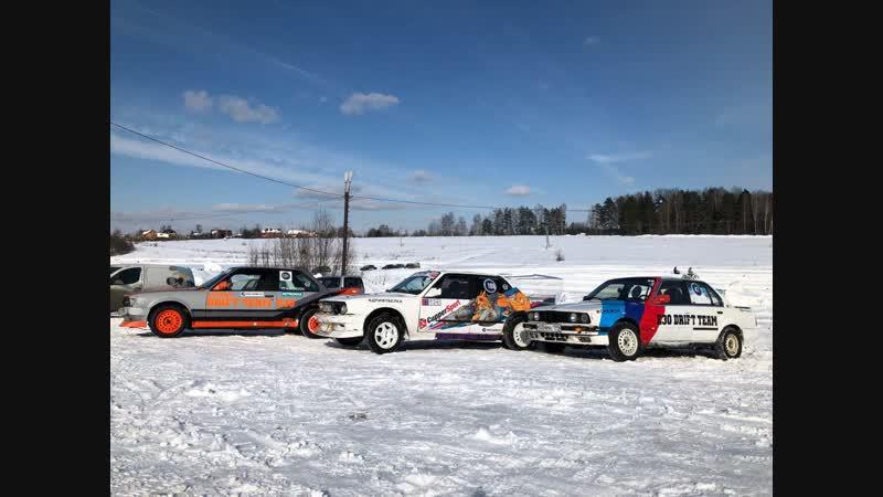 Зимний дрифт (Жигули, BMW, Volvo) (ВК версия без авторских прав)