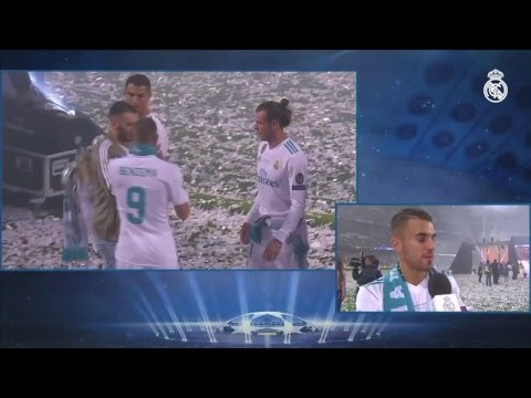 Real Madrid PARTY time at the Santiago Bernabéu | Champions League