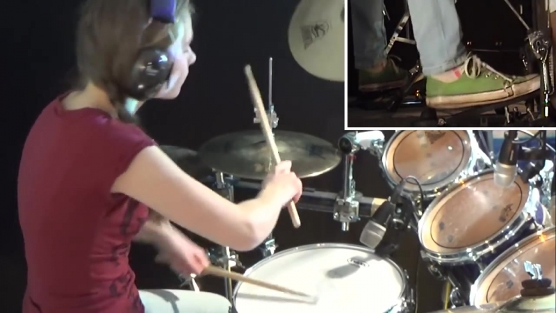 Hells Bells (AC_DC); drum cover by Sina.mp4