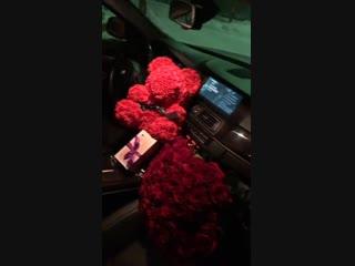 Мишки из роз Саранск 89961180539