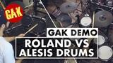 Roland VS Alesis Ultimate Electronic Drum Showdown!