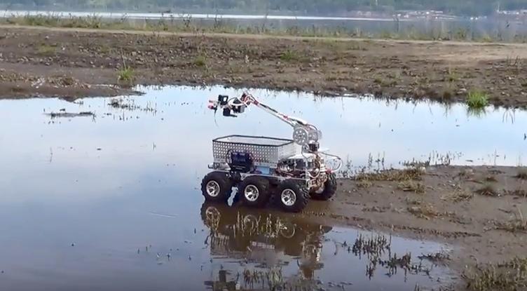 Робот-транспортер усть-илимских изобретателей