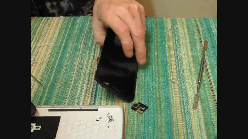 Ремонт Телефона model Valencia 2 Y 100 Pro. Замена задний камеры и прошивка.