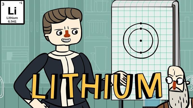 Marie Curie's Periodic Pantry: Lithium