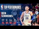 Ben Simmons Was Dropping Dimes! 14 Assists In Playoff Debut