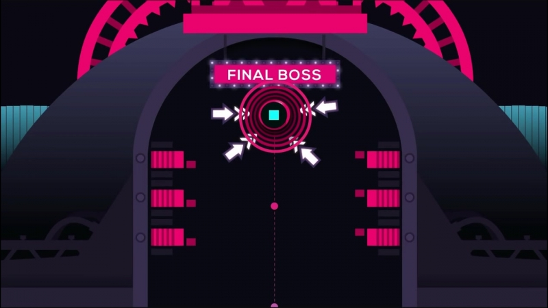 Just Shapes Beats - The Farewell Scene Before Final Boss