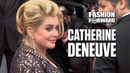Catherine Deneuve Brings French Grace And Elegance Wherever She Goes