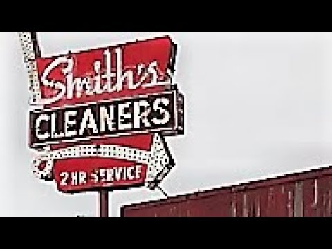 Smith's Cleaners Gutted Out Folded Structure UrbEx Gary Indiana