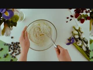 Berry protein cream
