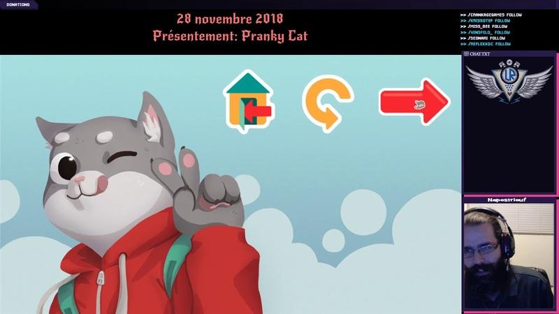 28/11/2018: Pranky Cat: Un chat jouant des mauvais coups à des chiens!