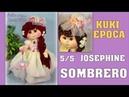 MUÑECA KUKI EPOCA hacemos el sombrero y FIN video 346