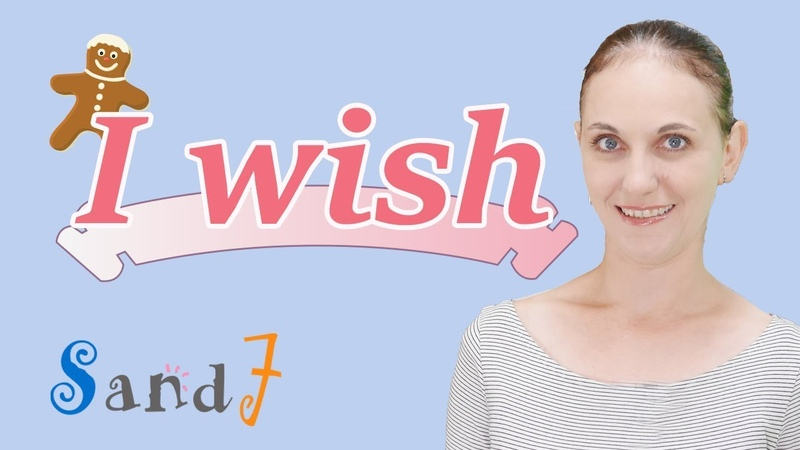 I wish / If only -dreams and regrets- (English Grammar)