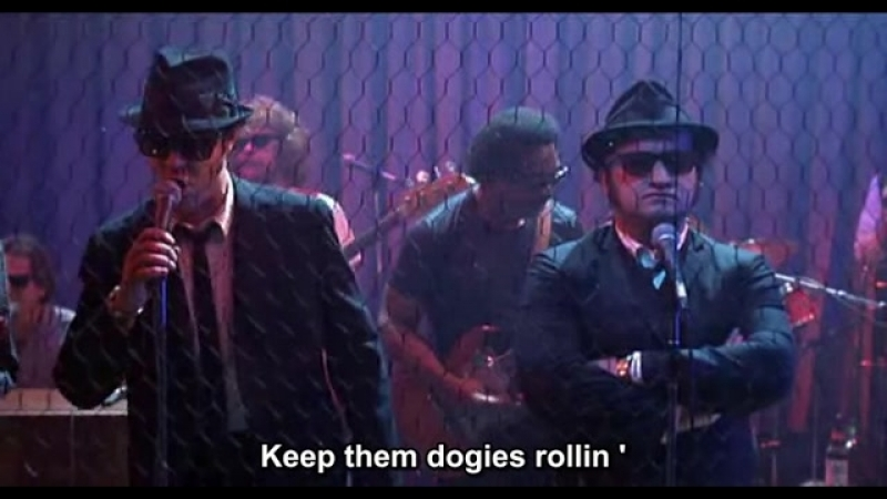 Blues Brothers tema do seriado Raw Hide