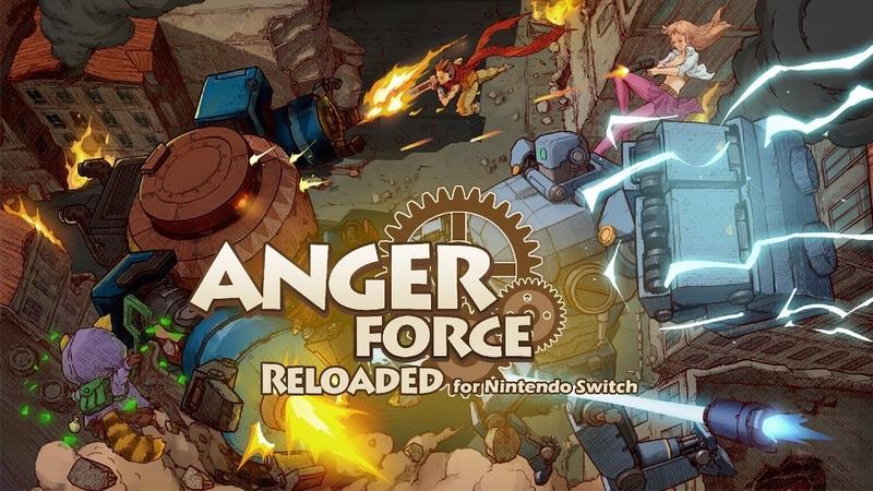 AngerForce: Reloaded for Nintendo Switch - ESRB - eshop Trailer