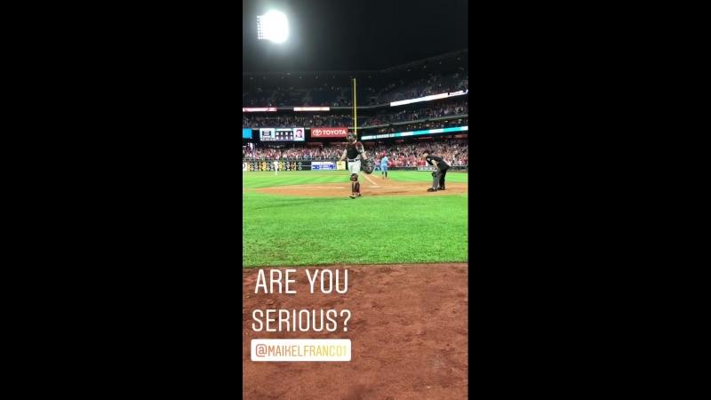 Maik_Walk-off © Phillies Instagram (Stories)