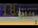 Александра Яремчук Мяч - New Dnipro Stars 2018