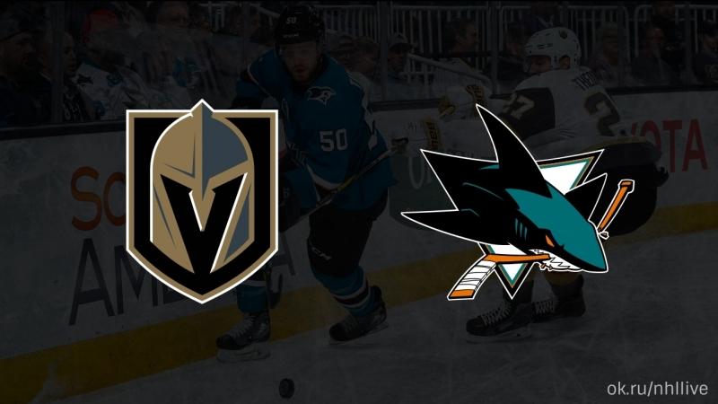 Vegas Golden Knights San Jose Sharks 23 03 2018