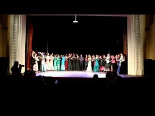 II Сибирский фестиваль фламенко iOle con Ole!. Финал и награждение. 21.4.2018 Новосибирск
