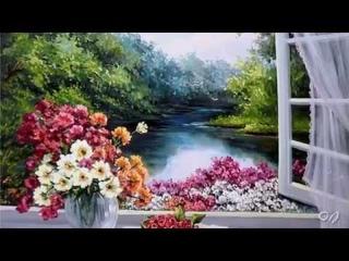 *** - Summer Paintings by Anca Bulgaru * Music Eugen Doga - ***