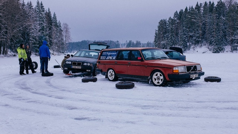 Ice Drifting on a Snowy Frozen Lake and WRC Sweden   Juicebox Unboxed 31