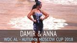 Damir Haluzan & Anna Mashchyts | Пасодобль | WDC AL - Осенняя Москва 2018