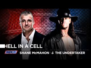 (WWE Mania) WrestleMania 32 The Undertaker vs. Shane McMahon (Hell in a Cell Match)