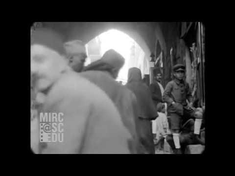 Nov 1929 - Street Scenes in Jerusalem (real sound)