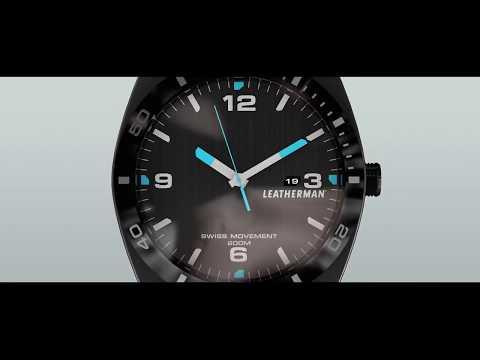 Часы-мультитул Leatherman Tread Tempo и бритва X-TRIM в подарок! Часы-мультитул на 30 инструментов.