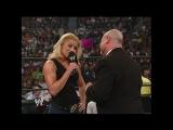 WWE SUMMERSLAM 2002 - Trish Stratus surprises Howard Finkel