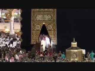 По воле Всевышнего, Салах Межиев удостоился милости войти в Священную Каабу!