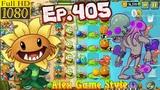 Plants vs. Zombies 2 New Octo Zombie - Big Wave Beach Day 17 (Ep.405)