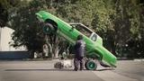 Дрифт по городу на RAZOR Crazy Cart! Покатушки на дрифт каре