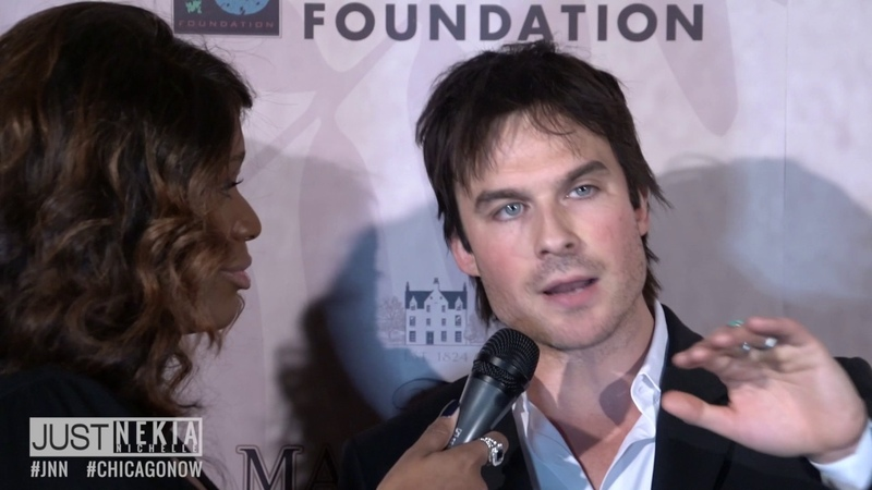 Ian Somerhalder Foundation Red Carpet Recap