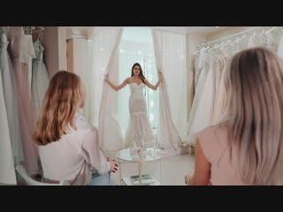 Примерка в свадебном салоне mary jane в тольятти.