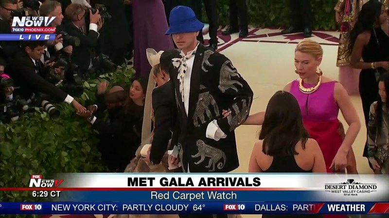ARIANA GRANDE ARRIVES: Met Gala 2018 red carpet arrival (FNN)