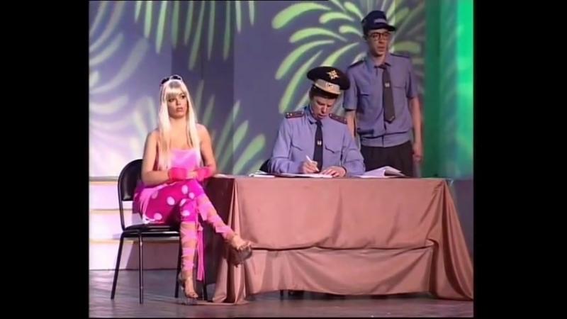 Карина Зверева Блондинка в ГАИ