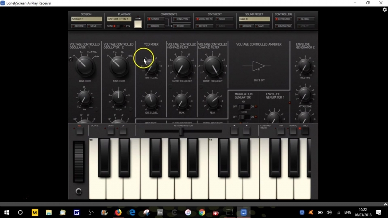 Tutorial - Korg iMS20 iPad App - Part 2 - The Oscillators Section