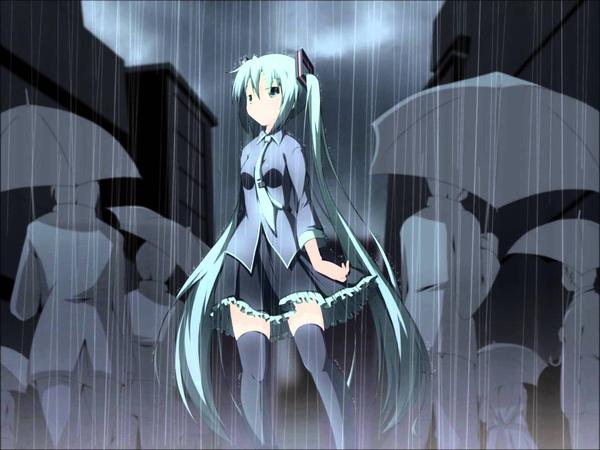 【Hatsune Miku】- The Sound of Encroaching Rain 【Utsu-P x Yuyoyuppe】