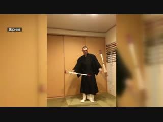Флешмоб в кашае: монахи-джедаи вступились за коллегу из Японии