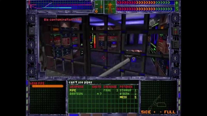 System Shock Enhanced Edition - Level 1