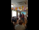 Танец пап выпускной Аришка