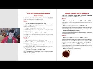 [SilverName HearthStone - официальный канал] Мета отчет от SilverName: Колоды дополнения Ведьмин Лес - обзор 26.04.2018. Паладин